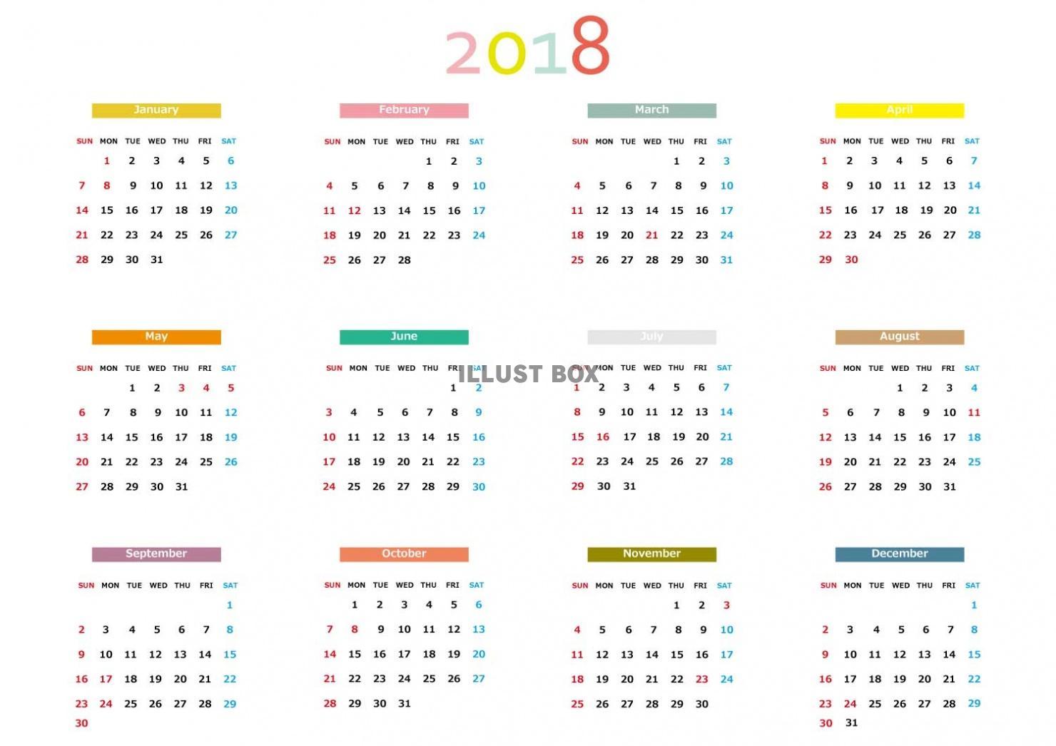 壁紙 カレンダー 無料 ダウンロード 2018 Saruwakakun