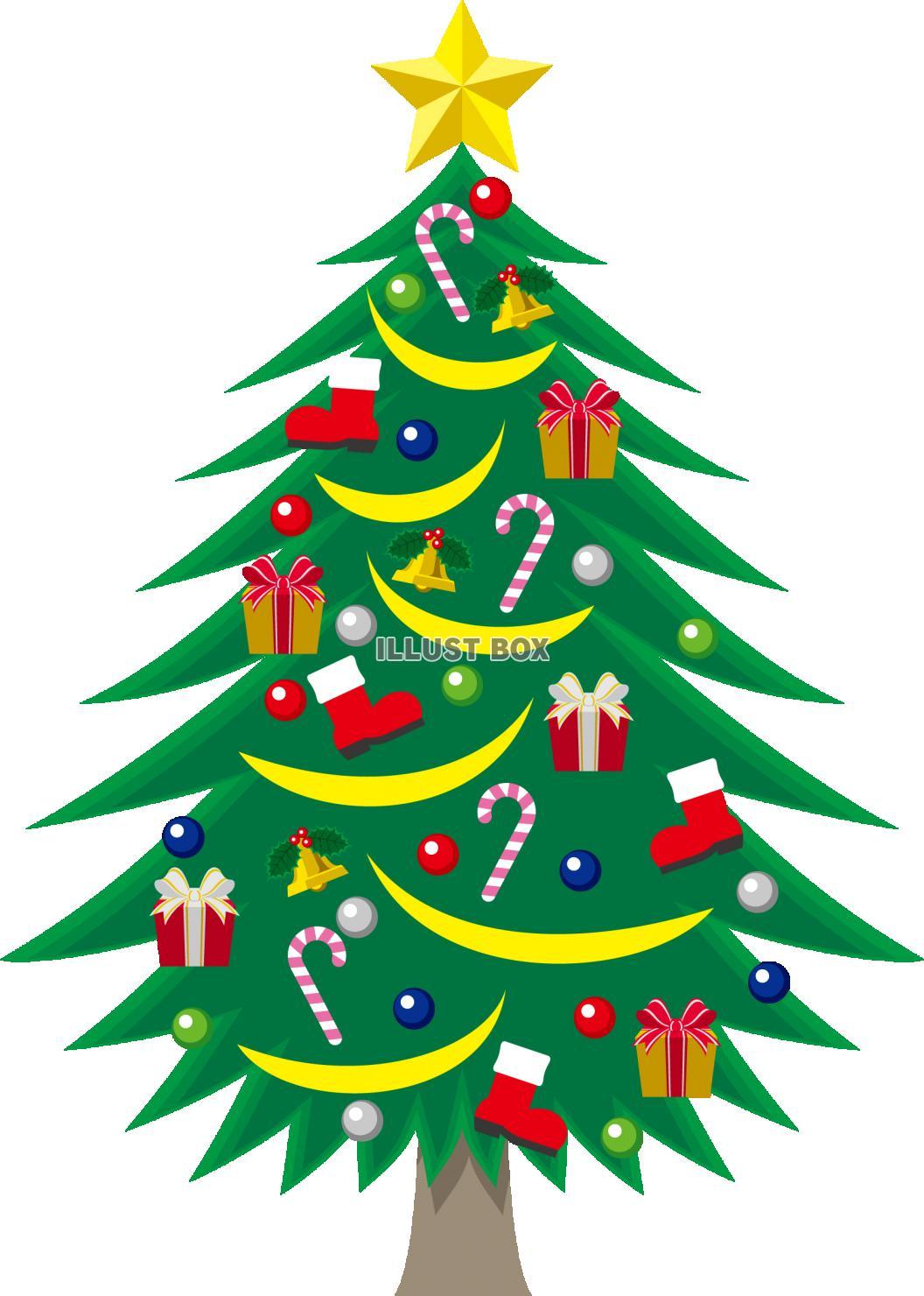 クリスマスツリー シンプル
