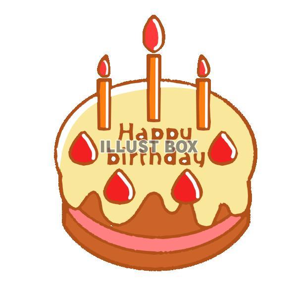 無料イラスト 誕生日ケーキ 透過png