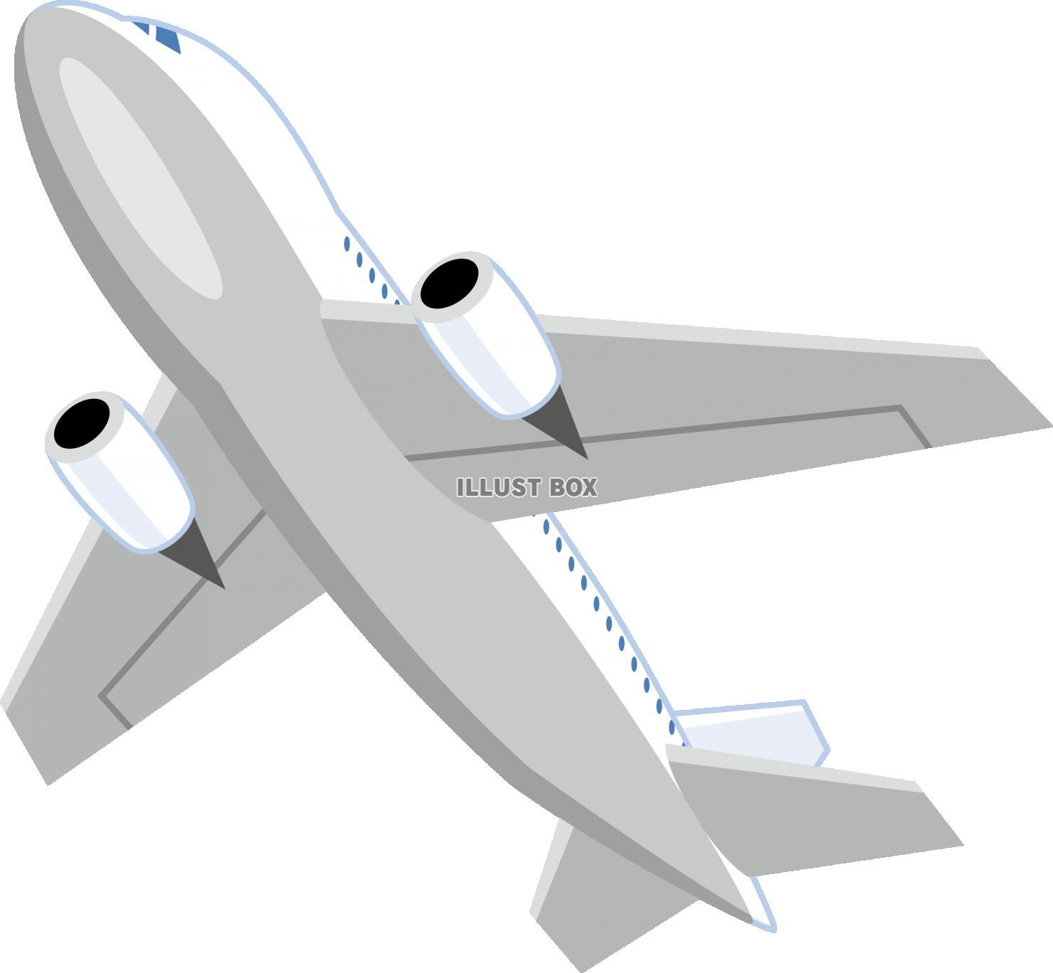無料イラスト 飛行機 ジェット機