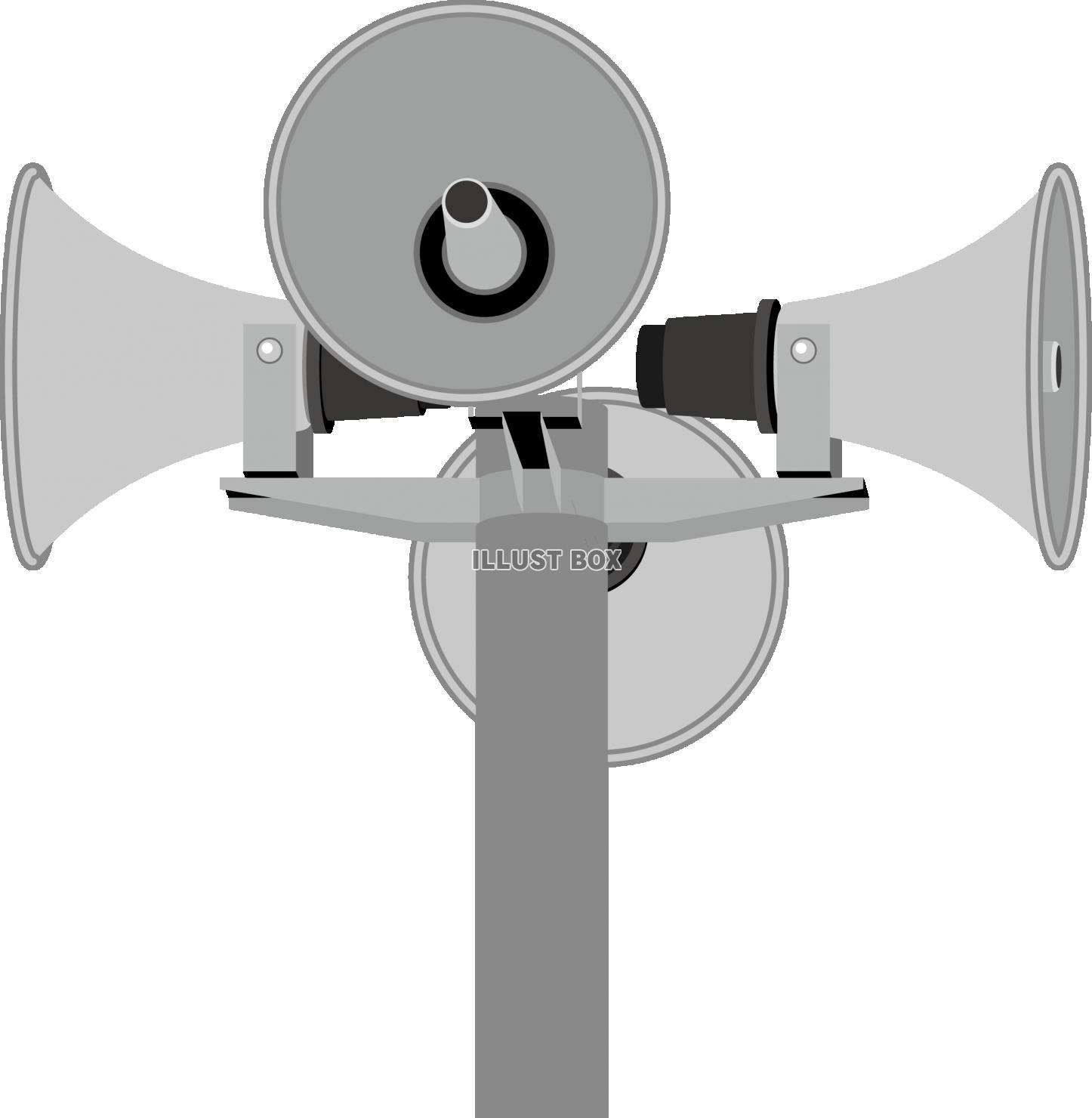 イラスト 拡声 器