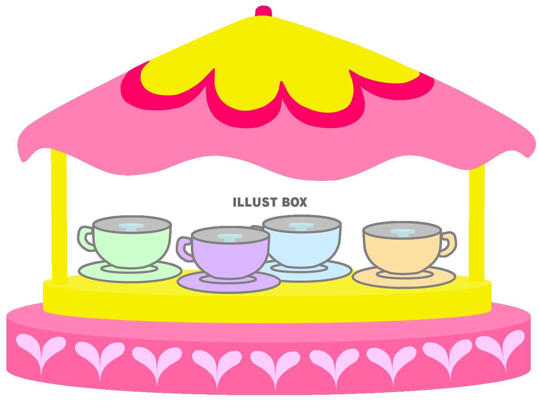 無料イラスト ティーカップコーヒーカップ