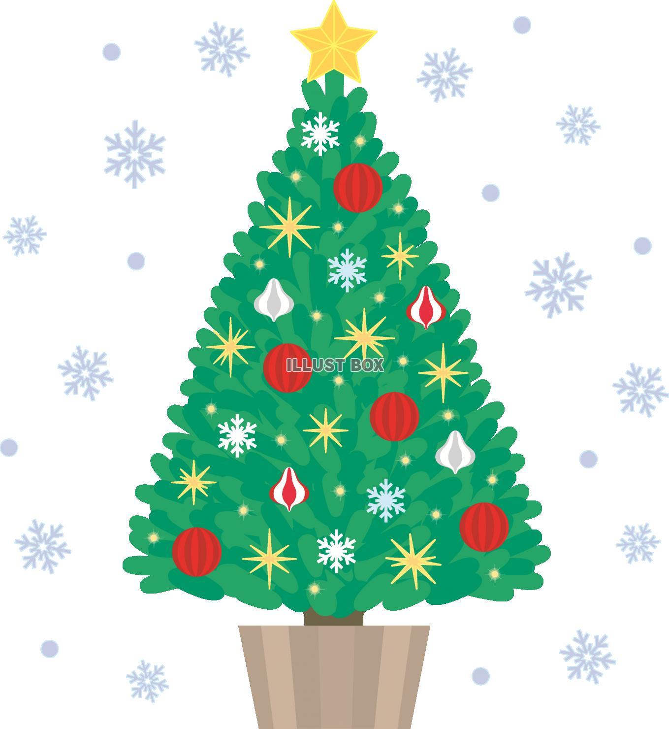 ツリー クリスマス イラスト フリー