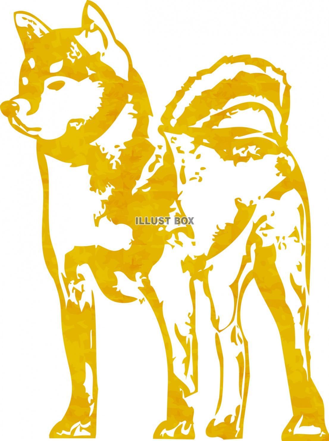 無料イラスト 年賀状素材犬正月干支戌年お年賀冬お正月戌和風