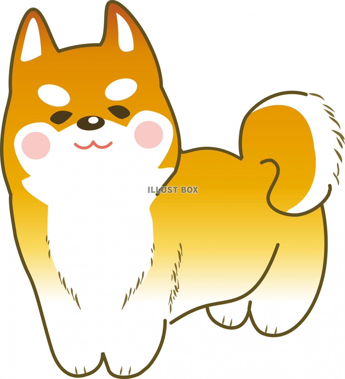 無料イラスト 年賀状素材犬 正月 干支 戌年 お年賀 冬 お正月 戌 謹賀
