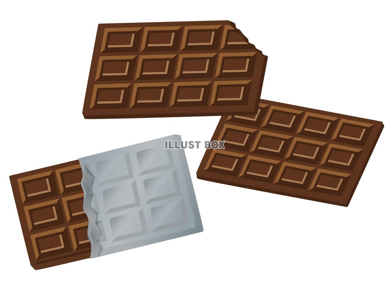 3e8e21803f 無料イラスト 板チョコ