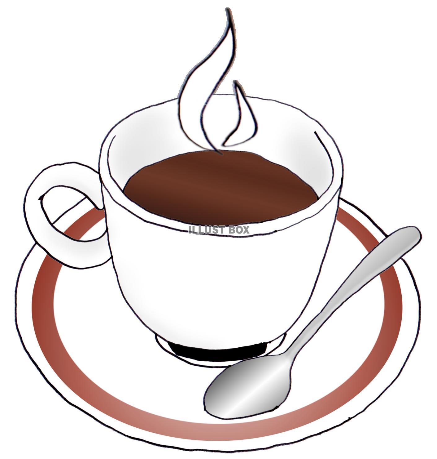 無料イラスト コーヒー