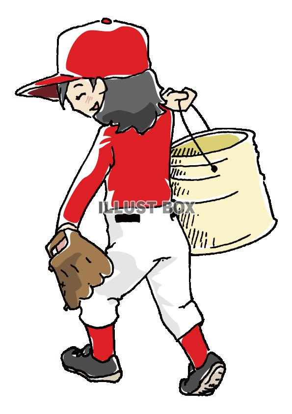 人物-女の子-野球3