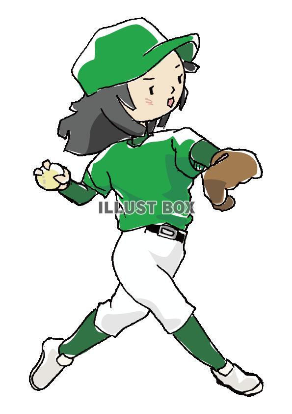 人物-女の子-野球4