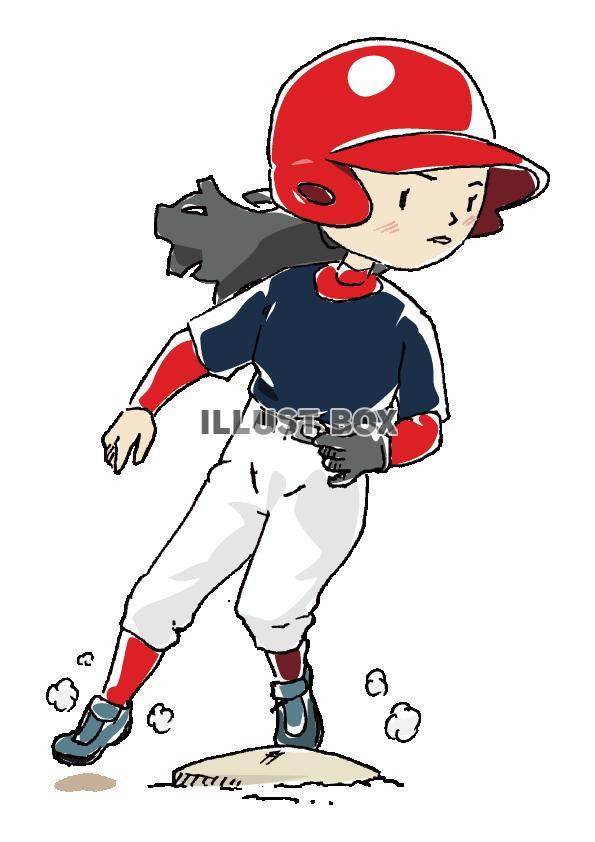 人物-女の子-野球5