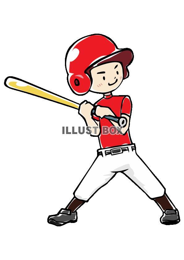 人物-男の子-野球4