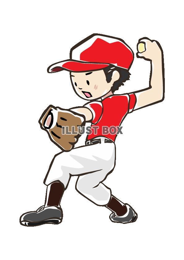 人物-男の子-野球5