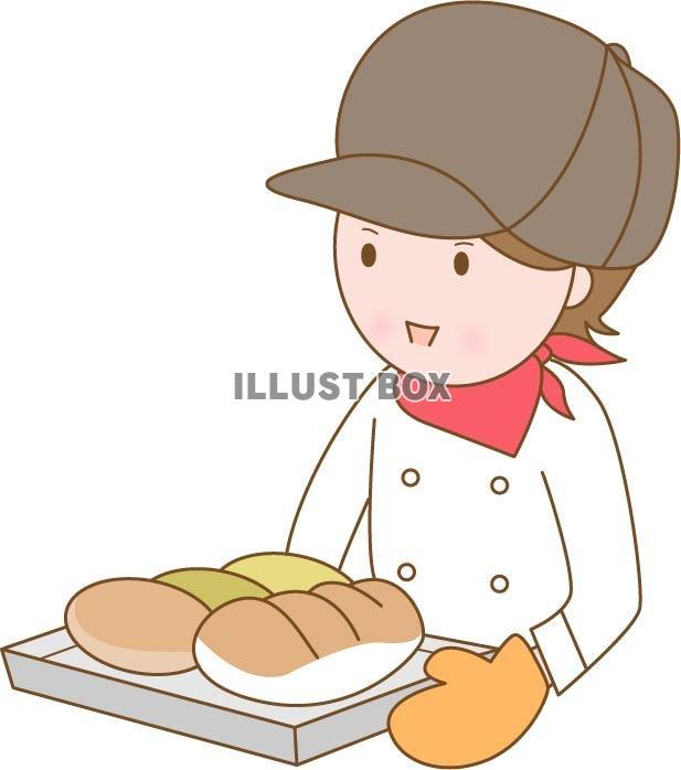 無料イラスト パン屋さん