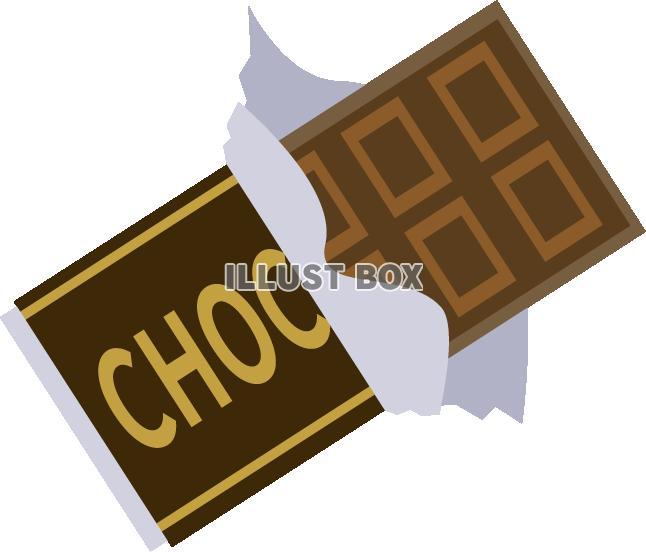 無料イラスト チョコレート