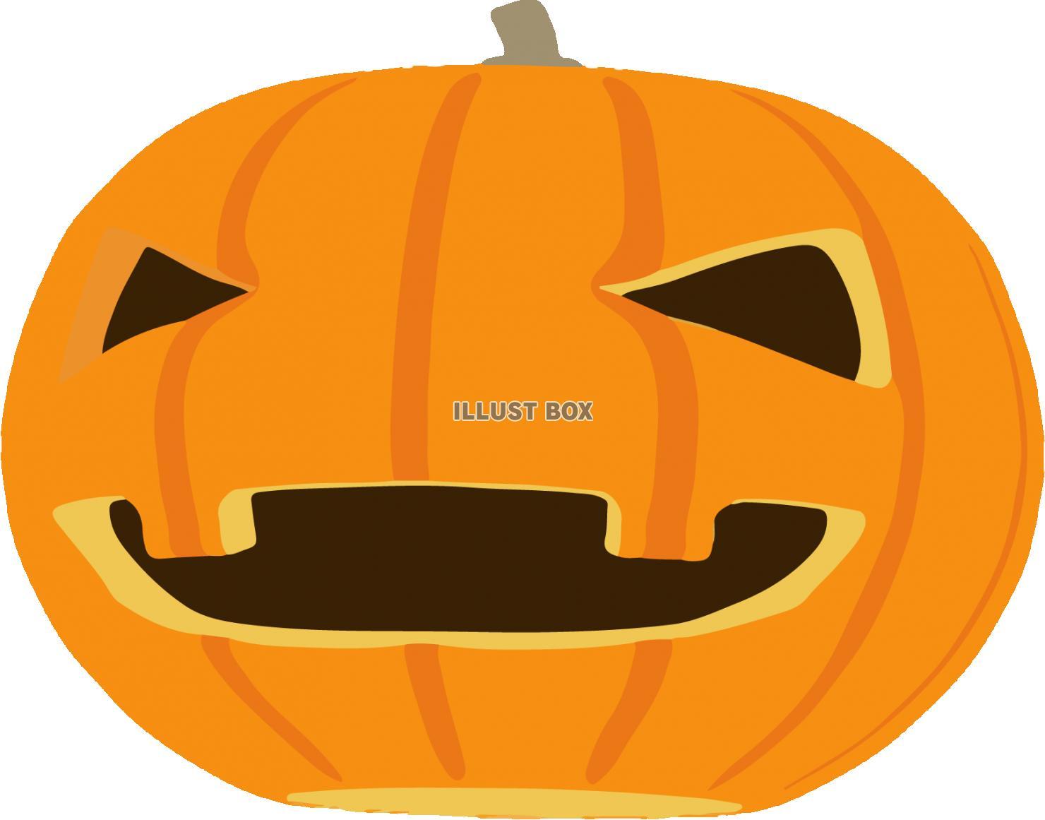無料イラスト ハロウィンかぼちゃ