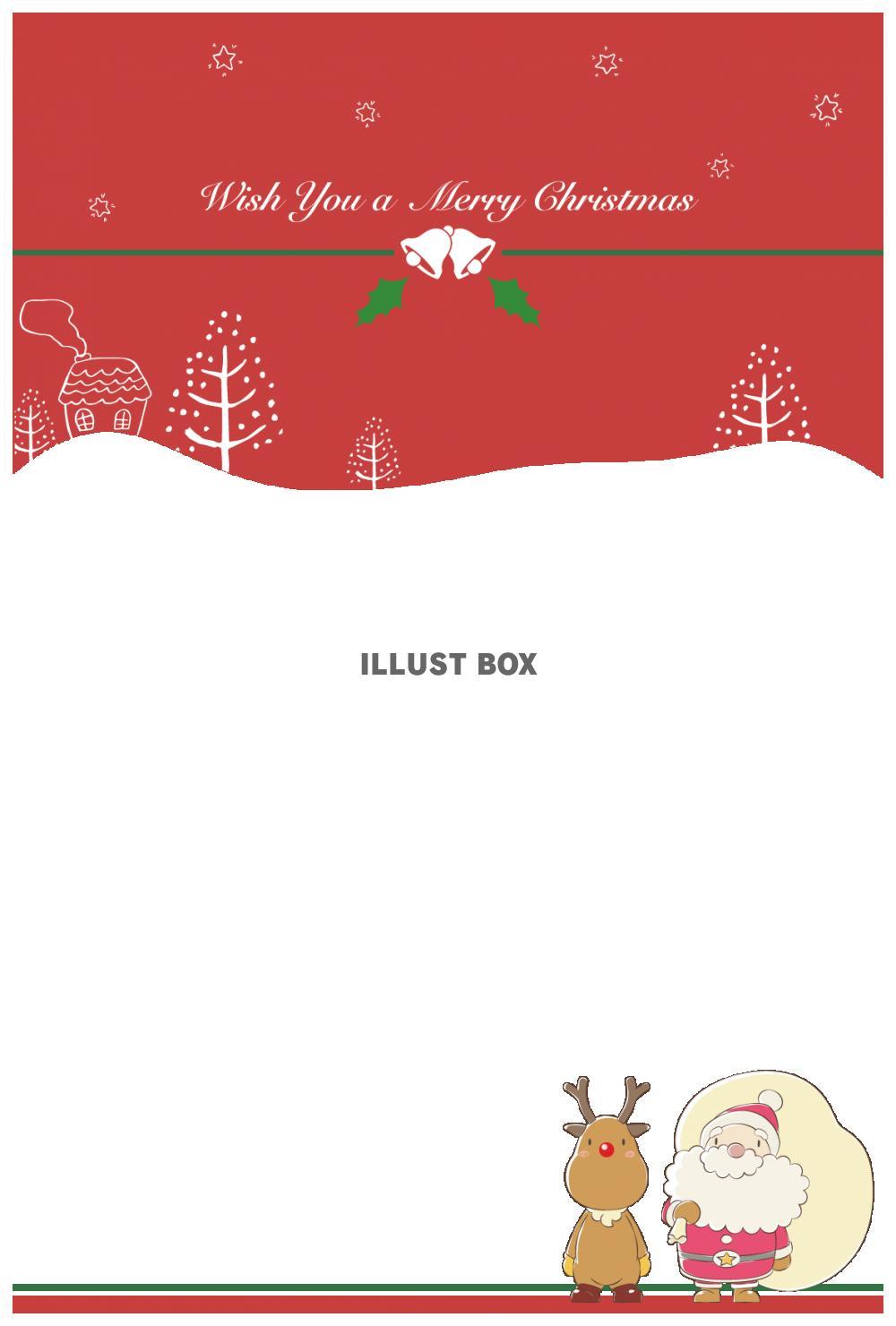 クリスマスカード2・緑
