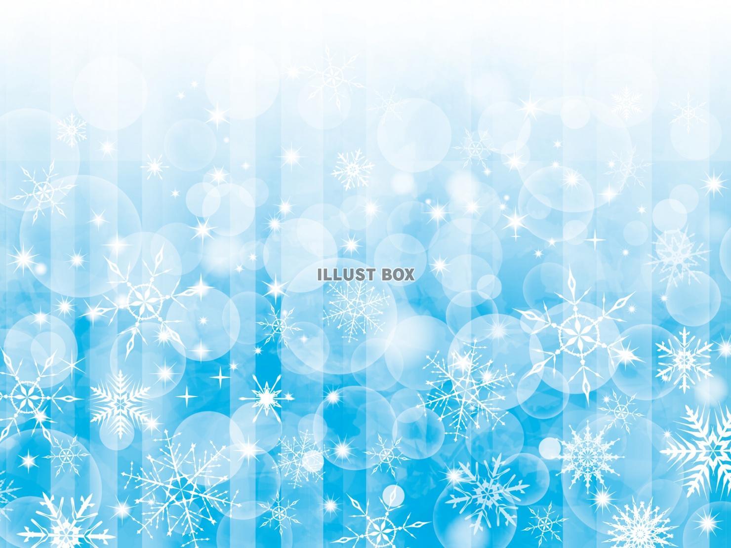 無料イラスト 雪背景キラキラ雪の結晶結晶壁紙イラスト冬きら