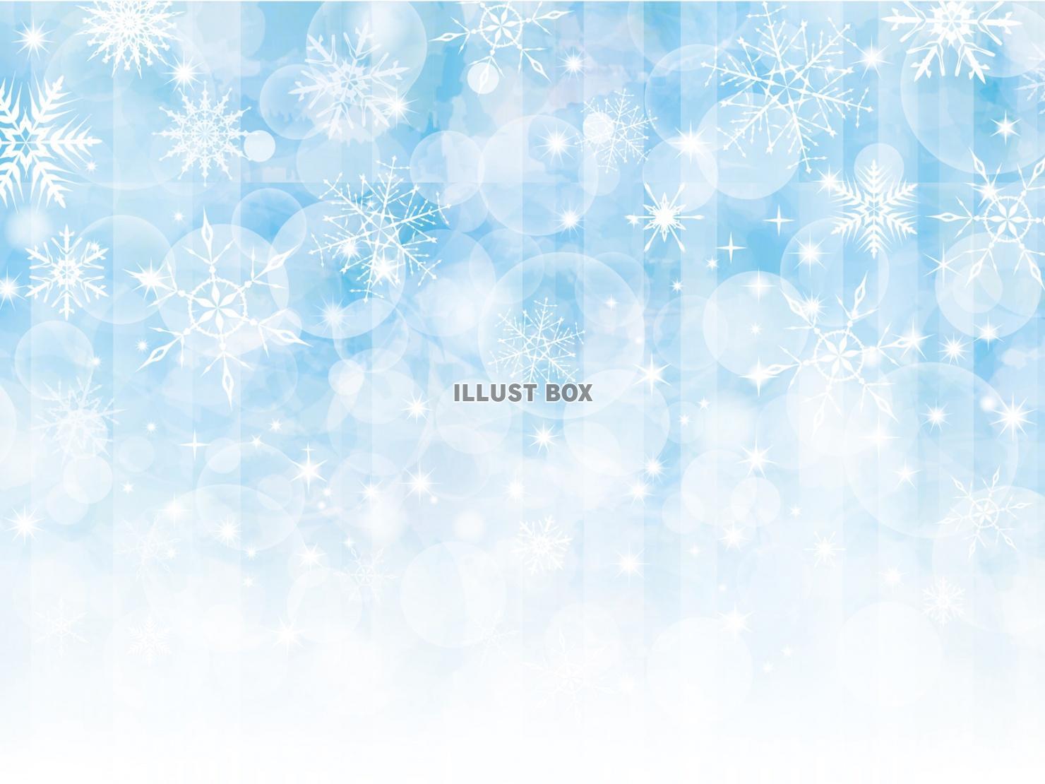 無料イラスト 雪 キラキラ 背景 結晶 雪の結晶 イラスト 壁紙 冬 きら