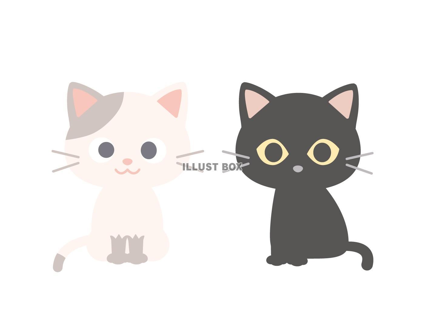 子猫 イラスト無料