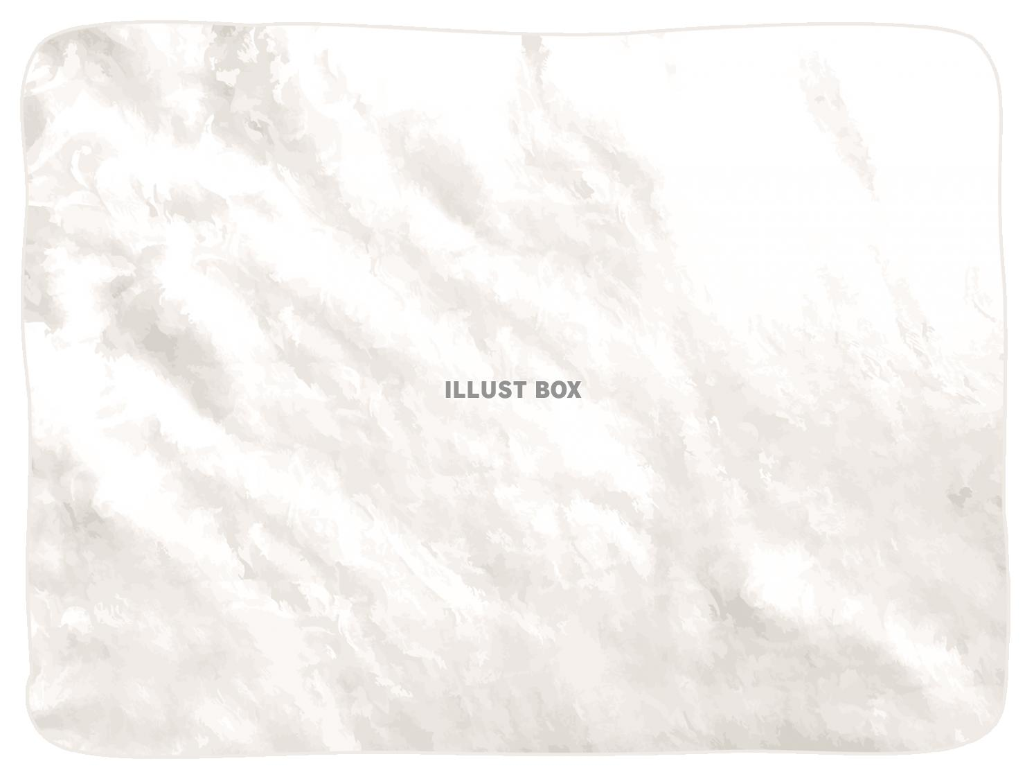 無料イラスト 背景布和紙壁紙無地手書き水彩フレームイラストシンプル白色ベー