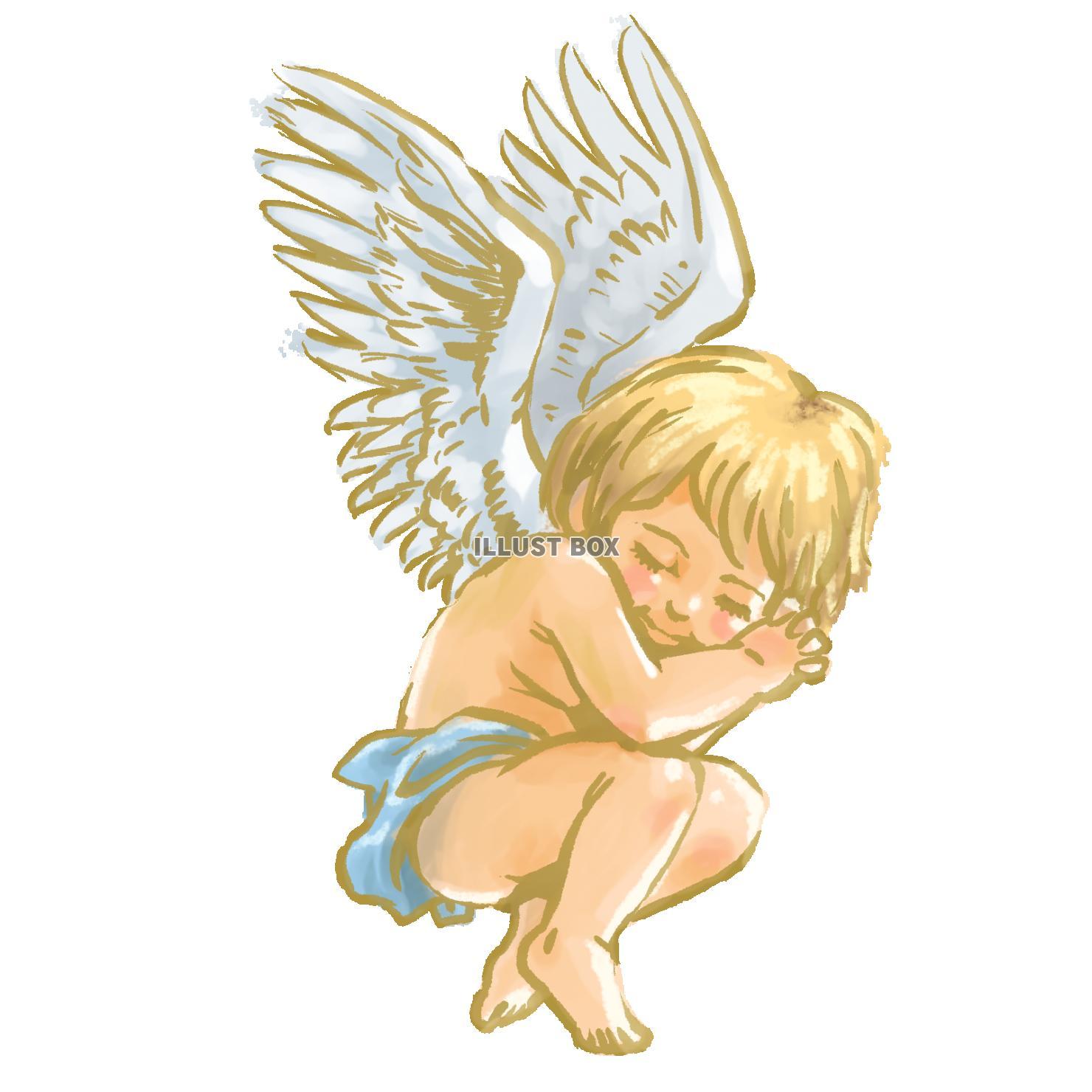 無料イラスト 天使2