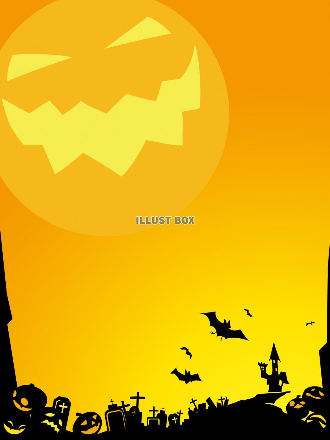 ハロウィン背景2