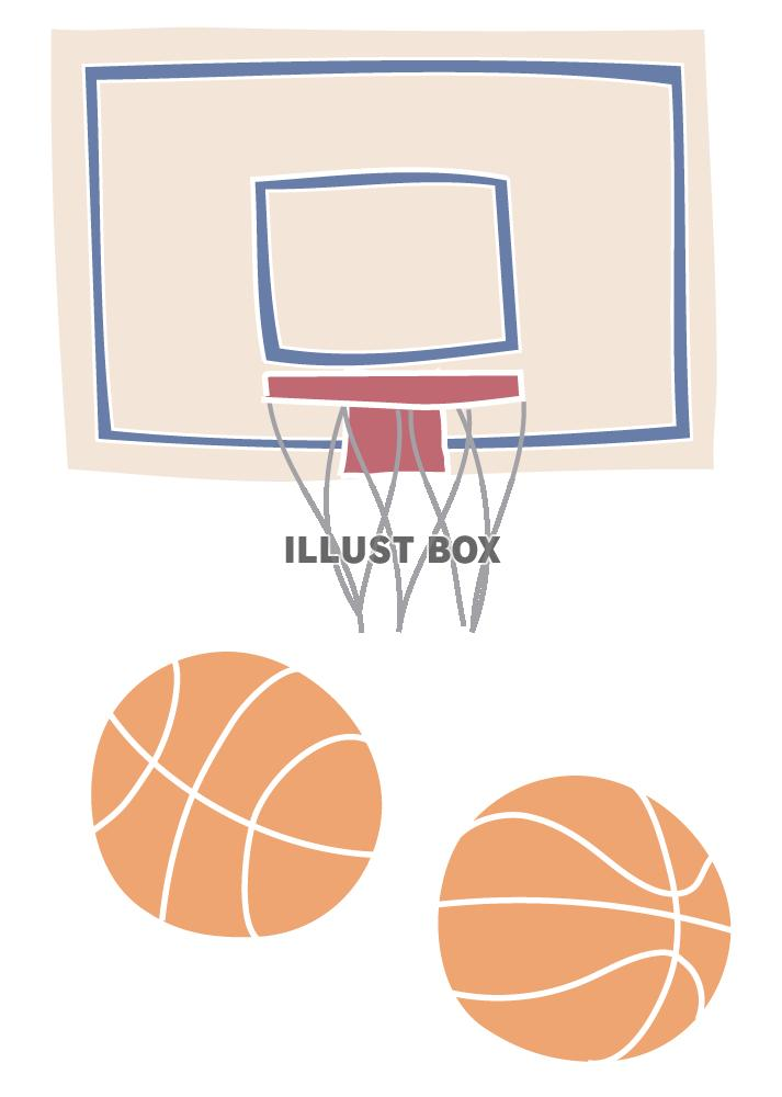 バスケットボール イラスト無料