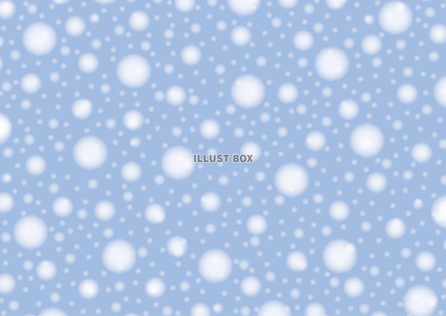 無料イラスト 降り積もる雪 壁紙 背景