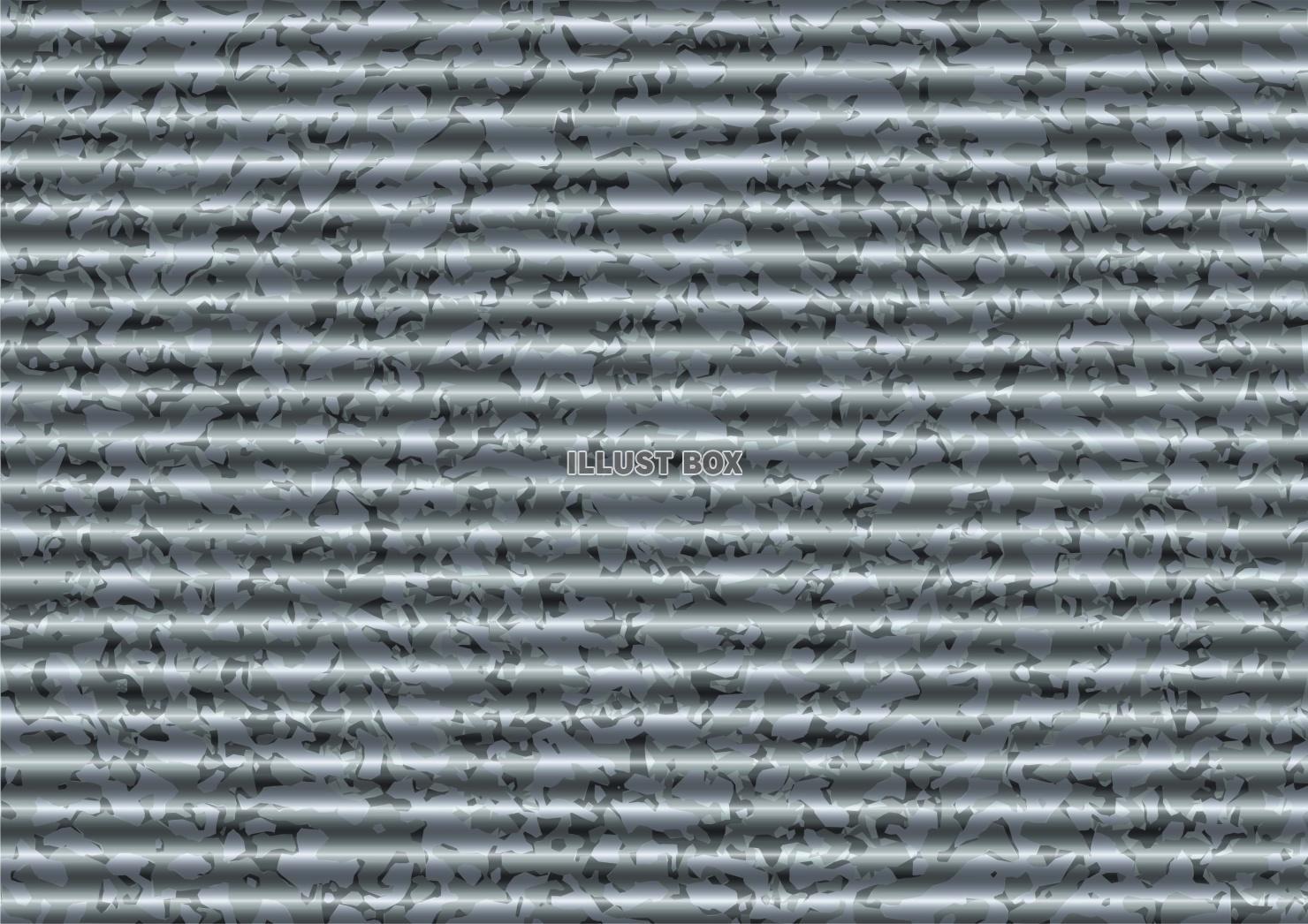 無料イラスト トタン 波板 テクスチャ 壁紙