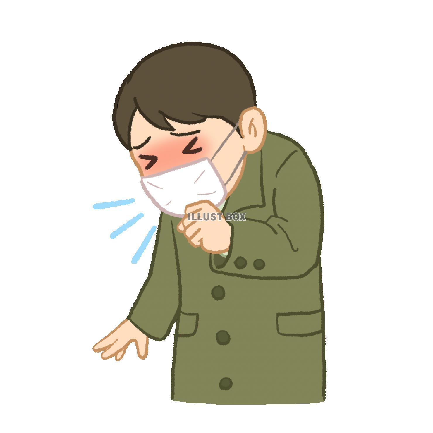 無料イラスト 風邪