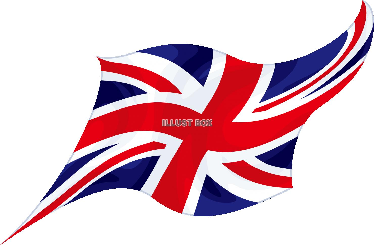 無料イラスト 国旗 イギリス ユニオンジャック