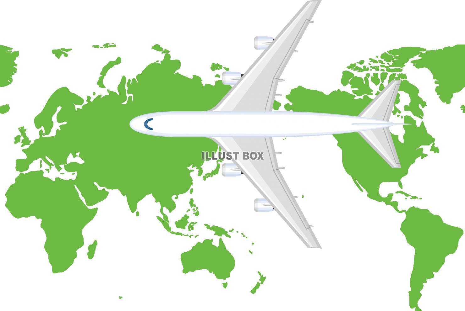 海外 旅行 イラスト