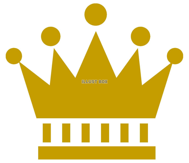 無料イラスト 王冠 ランキング アイコン 金色アイコン