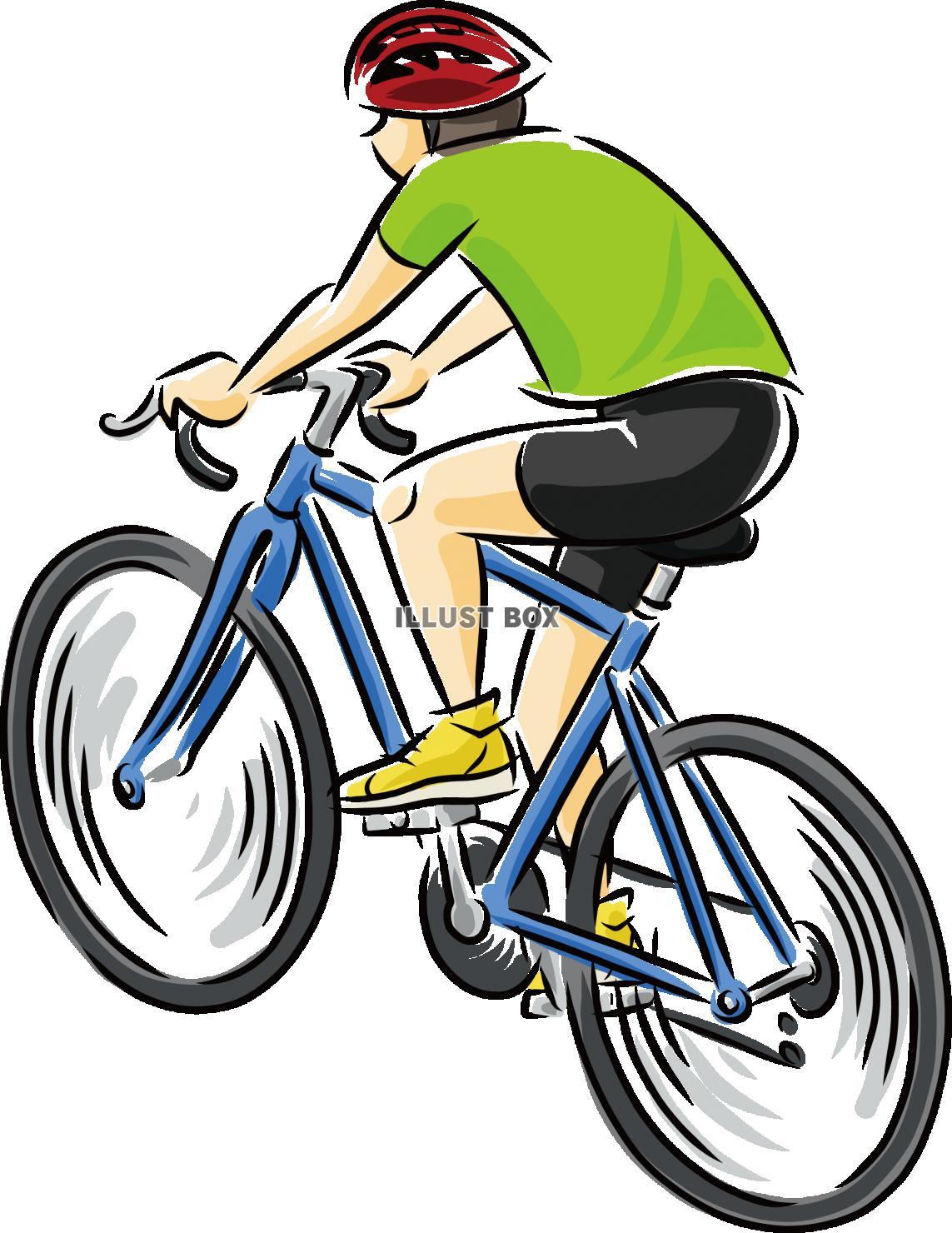 無料イラスト ロードバイク 自転車