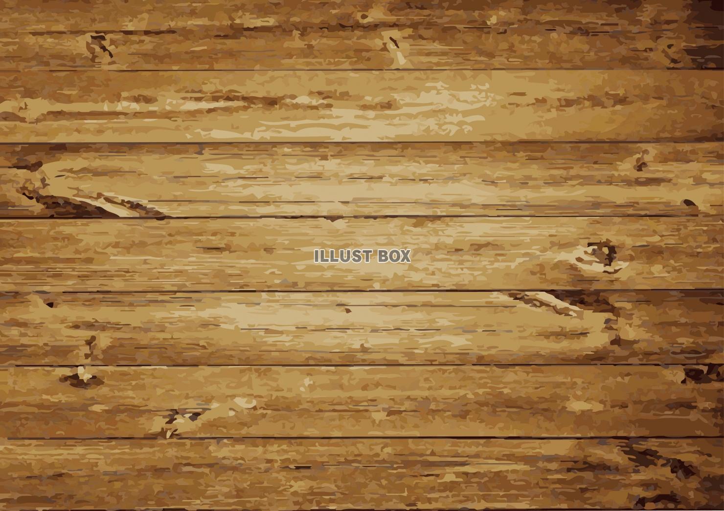 無料イラスト 木目の背景素材 アンティーク調木目