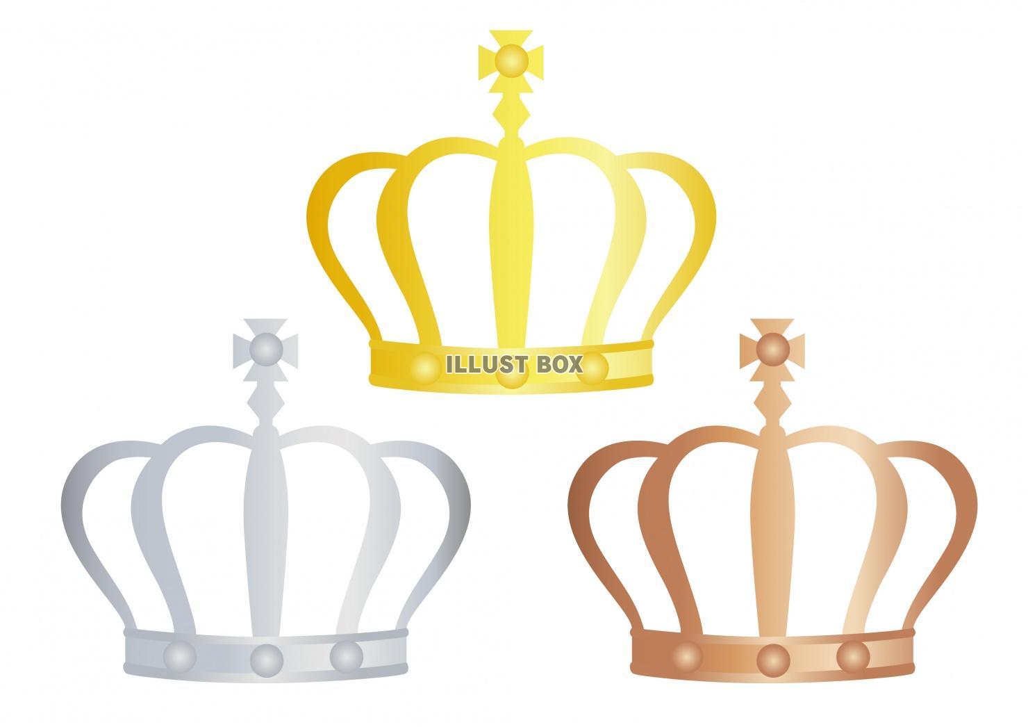 無料イラスト ランキングイラスト 王冠